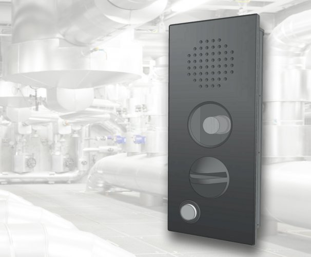 Product development industrial intercom housing